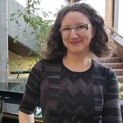 Julie Morin face à la caméra