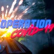 l'affiche du jeu-vidéo Opération COVID-19.