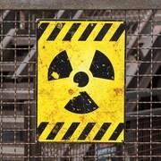 Le symbole représentant l'énergie nucléaire.