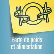 Illustration d'une assiette entourée d'un ruban pour mesurer le tour de taille.