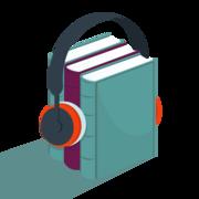 Illustration de 3 livres avec des écouteurs