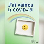 Certificat distribué aux personnes qui ont survécu à la COVID-19