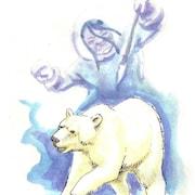 Page couverture du conte jeunesse La femme et les ours blancs