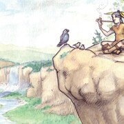 Page couverture du conte jeunesse <i>Savez-vous pourquoi les feuilles des érables rougissent</i>
