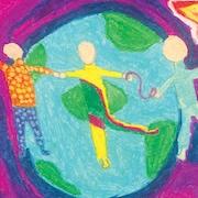 Page couverture du conte jeunesse Le ciel et les enfants