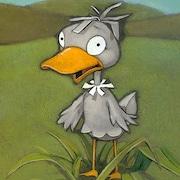 Couverture du livre Le vilain petit canard, un conte d'Andersen raconté par François Gravel et illustré par Steve Beshwaty