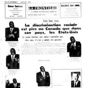 La page frontispice du journal La Frontière de Rouyn-Noranda du 2 janvier 1964