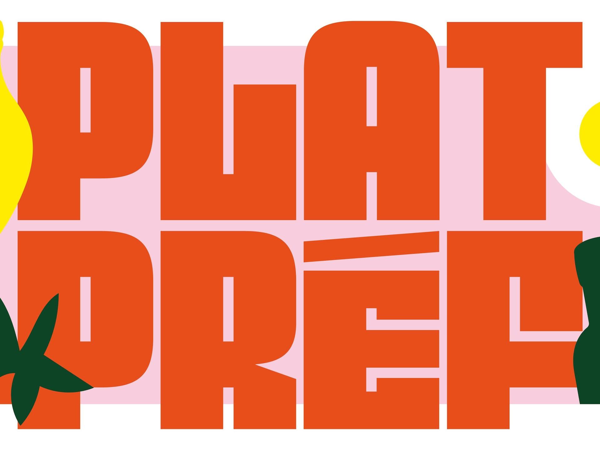 Le logo de la websérie Plat Pref.