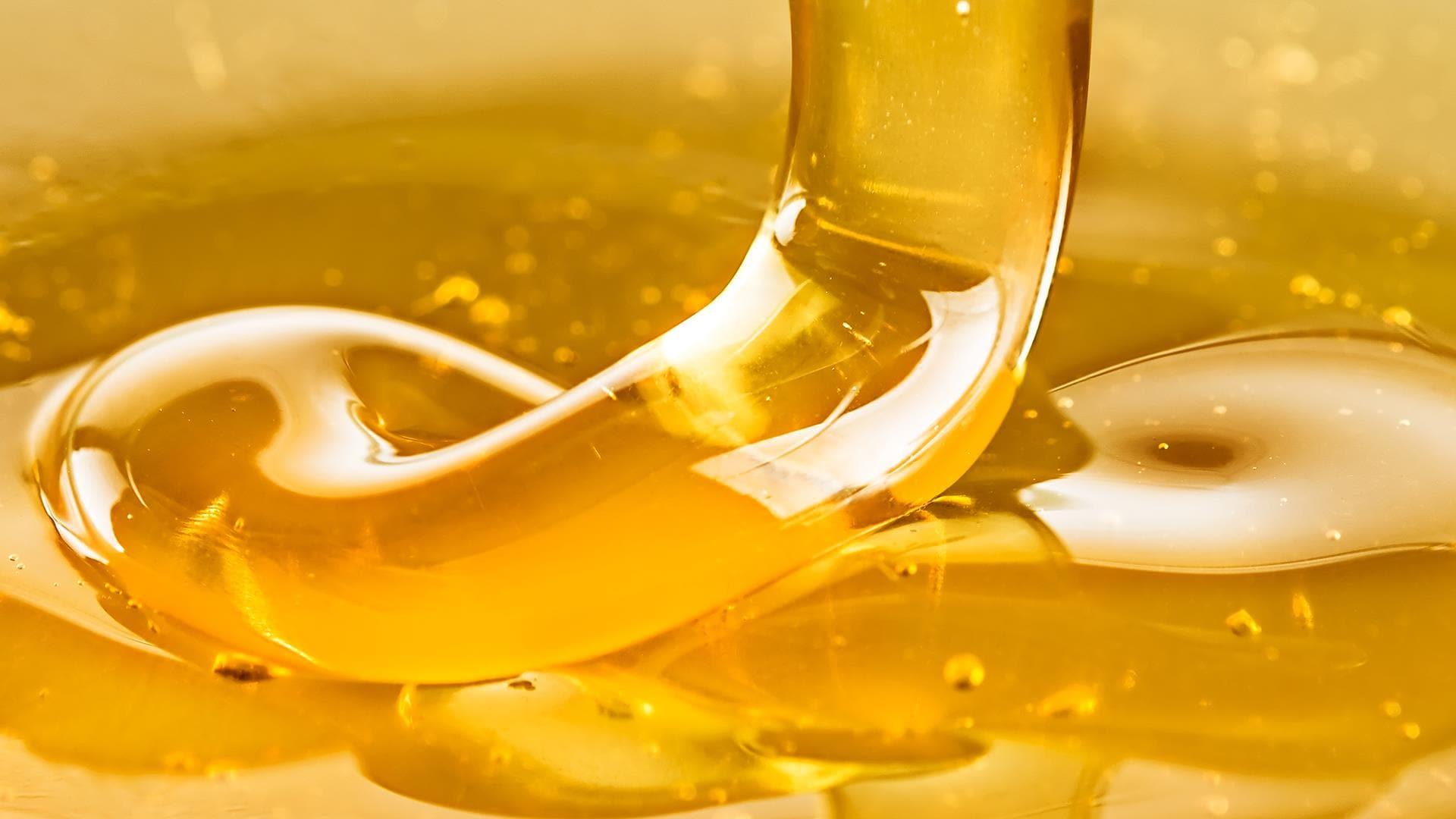 Une coulée de miel.