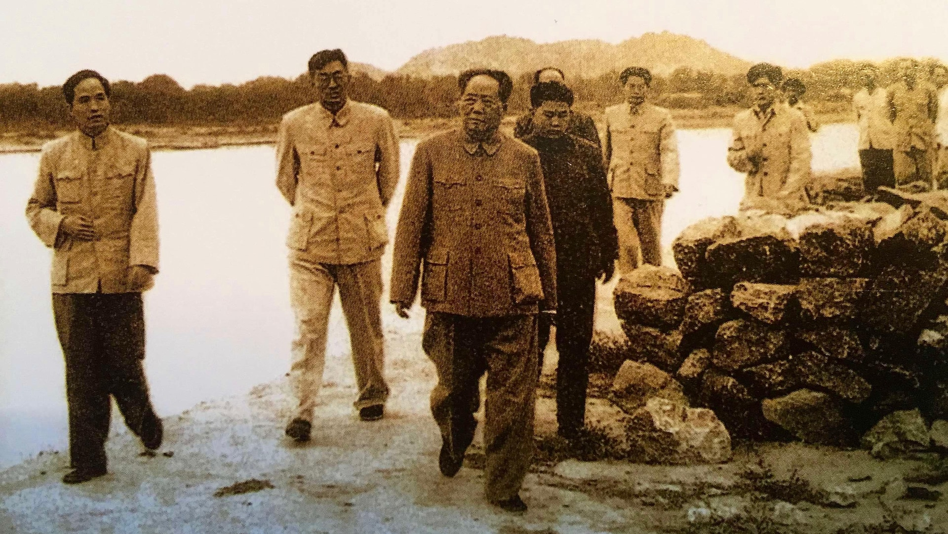 Photo d'archives de Mao Tsé-Toung