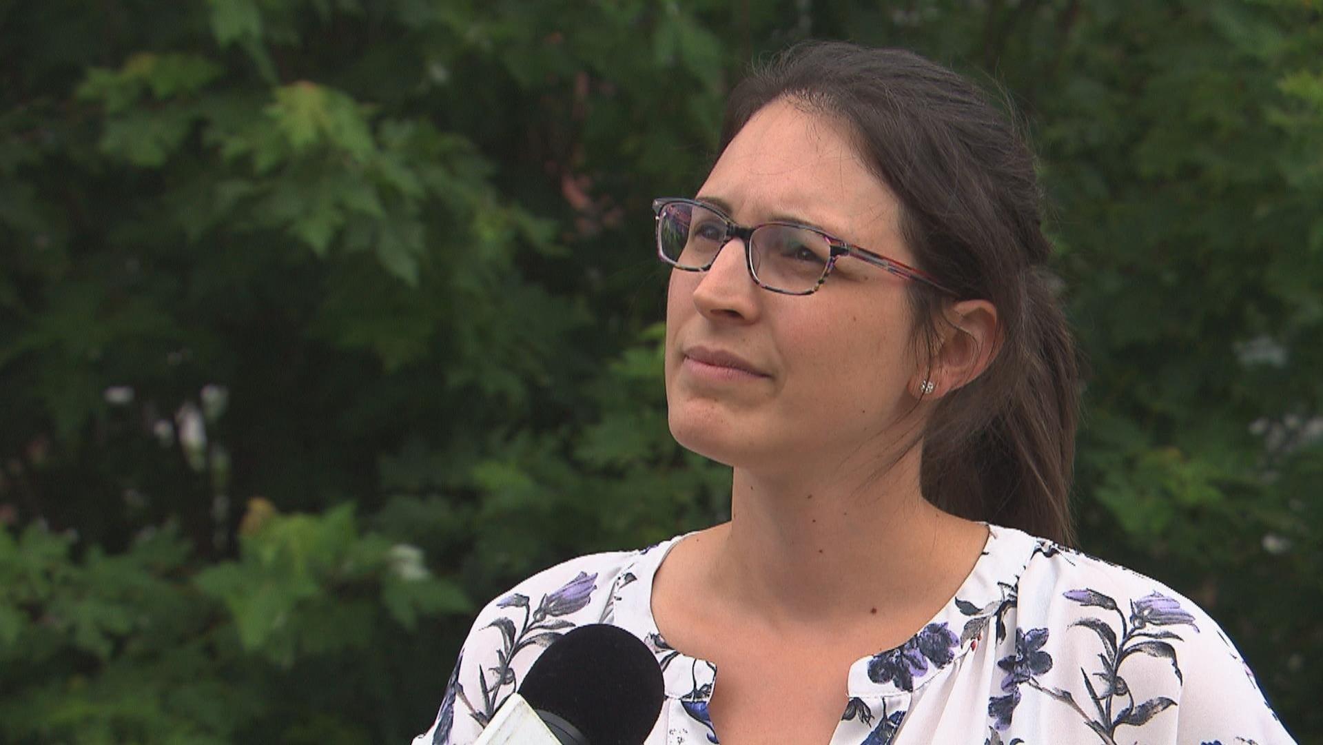 La directrice de la Fondation Trois-Rivières Durable, Cindy Provencher en entrevue.