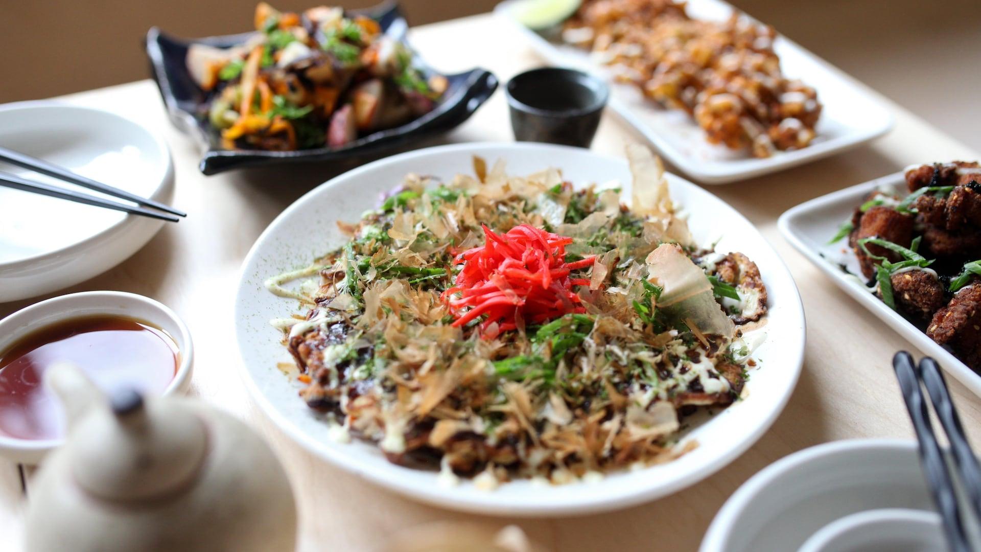 Un okonomiyaki.