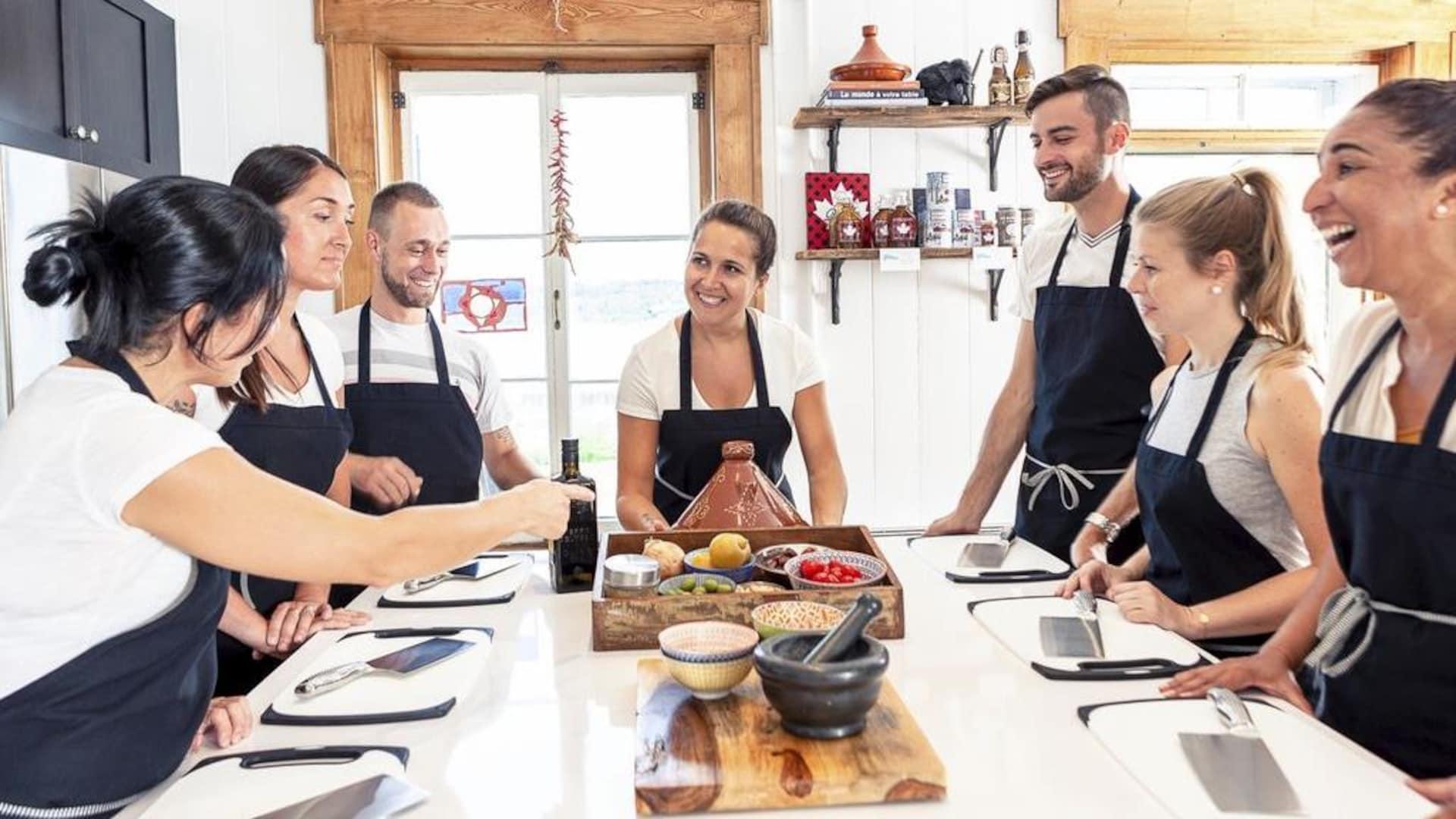 Anne Rouleau offre des cours de cuisine inspirés de ses voyages.