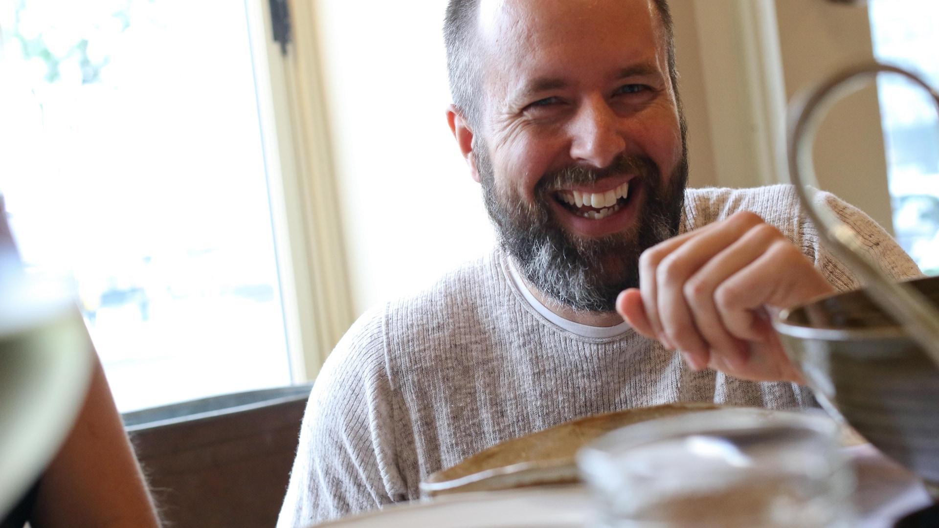 Stéphane Grenon, propriétaire du restaurant Chez Rioux & Pettigrew