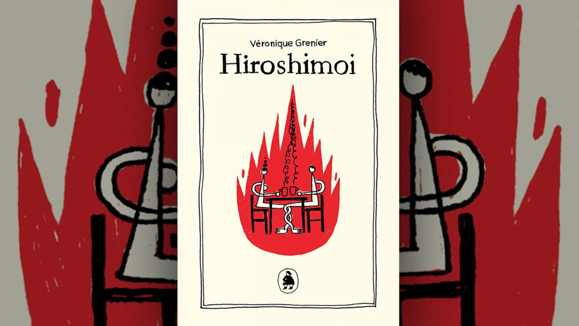 La couverture d'«Hiroshimoi» de Véronique Grenier (Les éditions de ta mère)