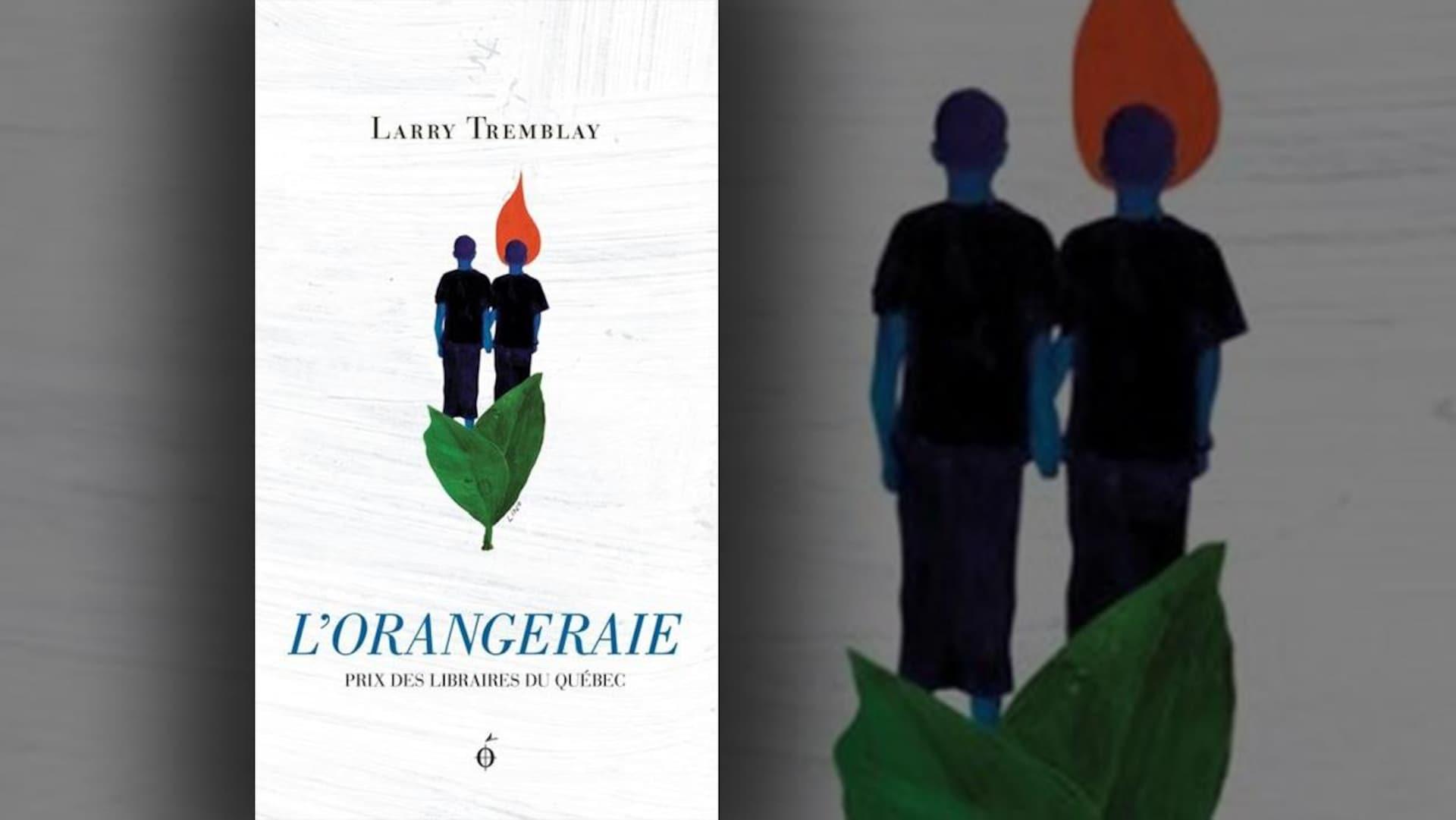 La couverture de «L'orangeraie» de Larry Tremblay