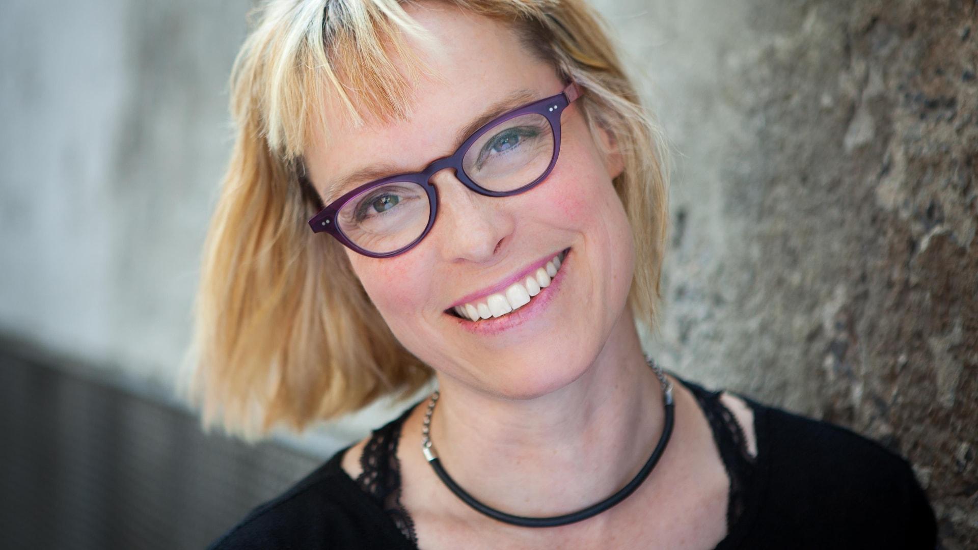 L'auteure Martine Delvaux
