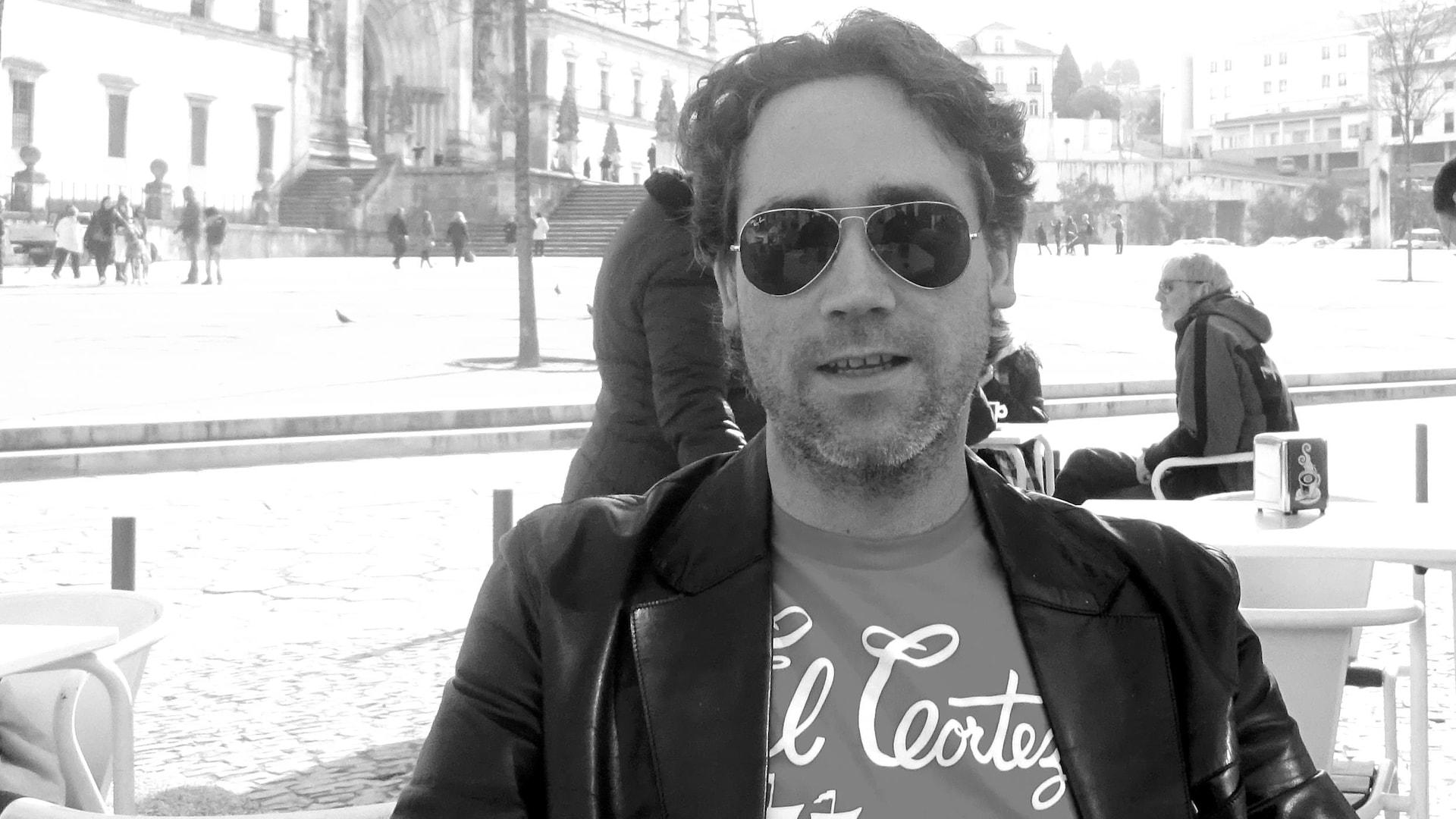 L'auteur Mathieu Vincelette