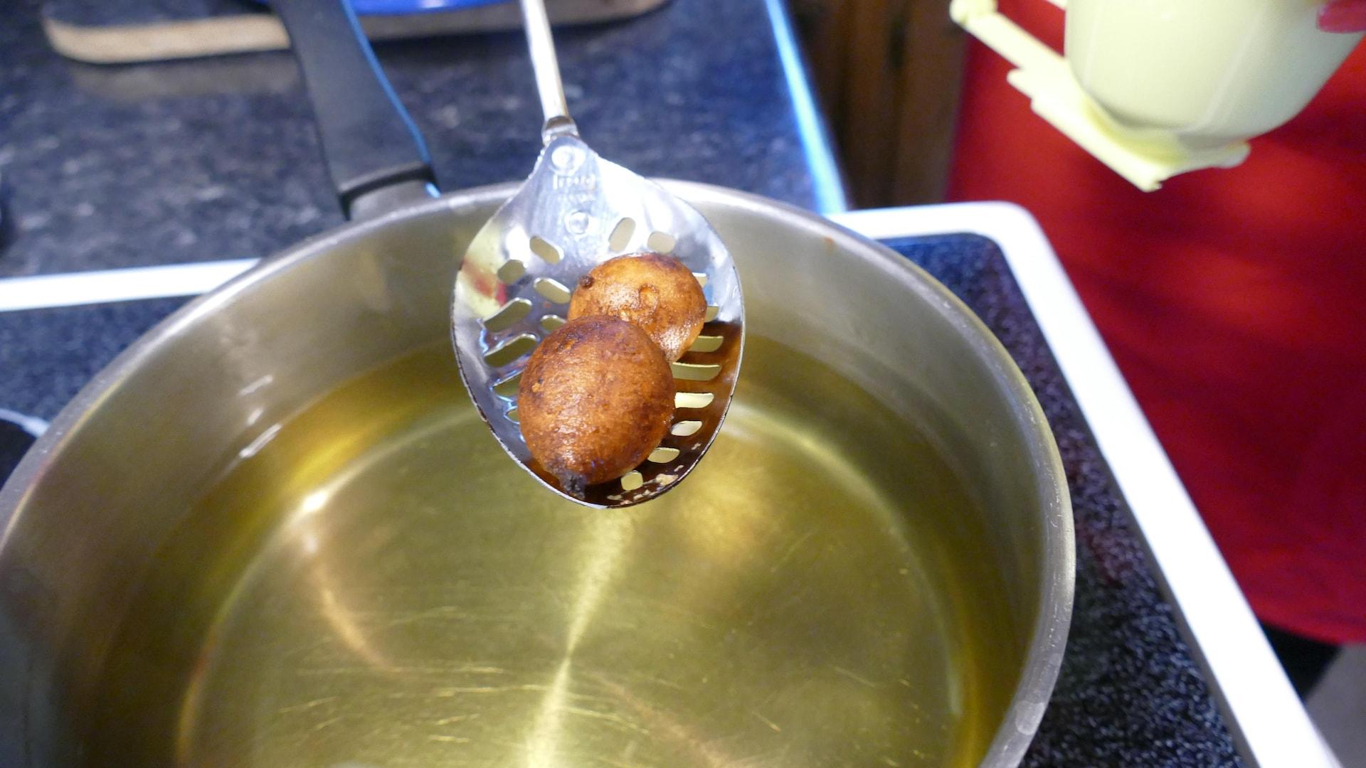 Les mikatés sont cuits.