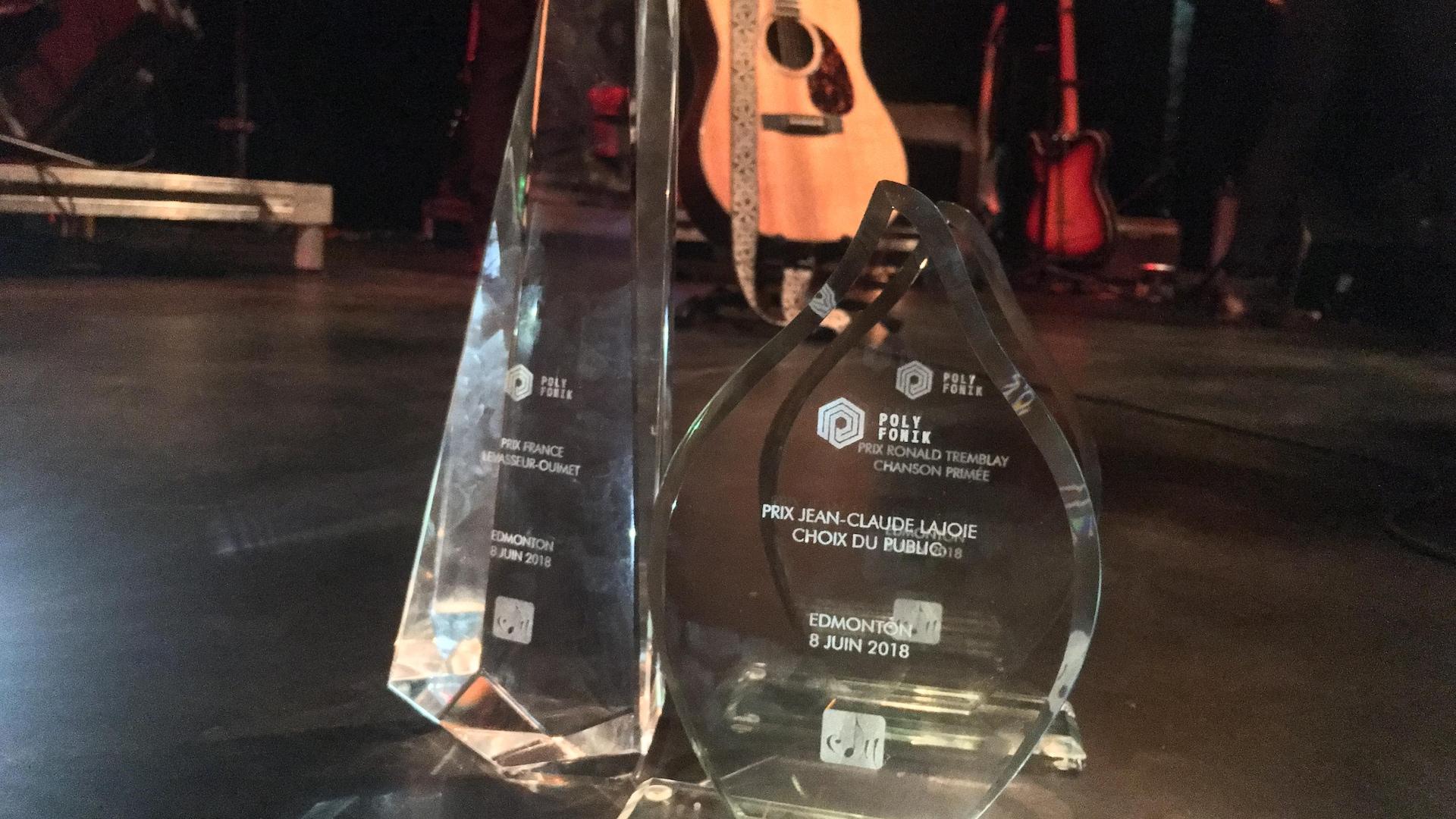 Les trois trophées gagnés par la polyfonicienne Renelle Ray