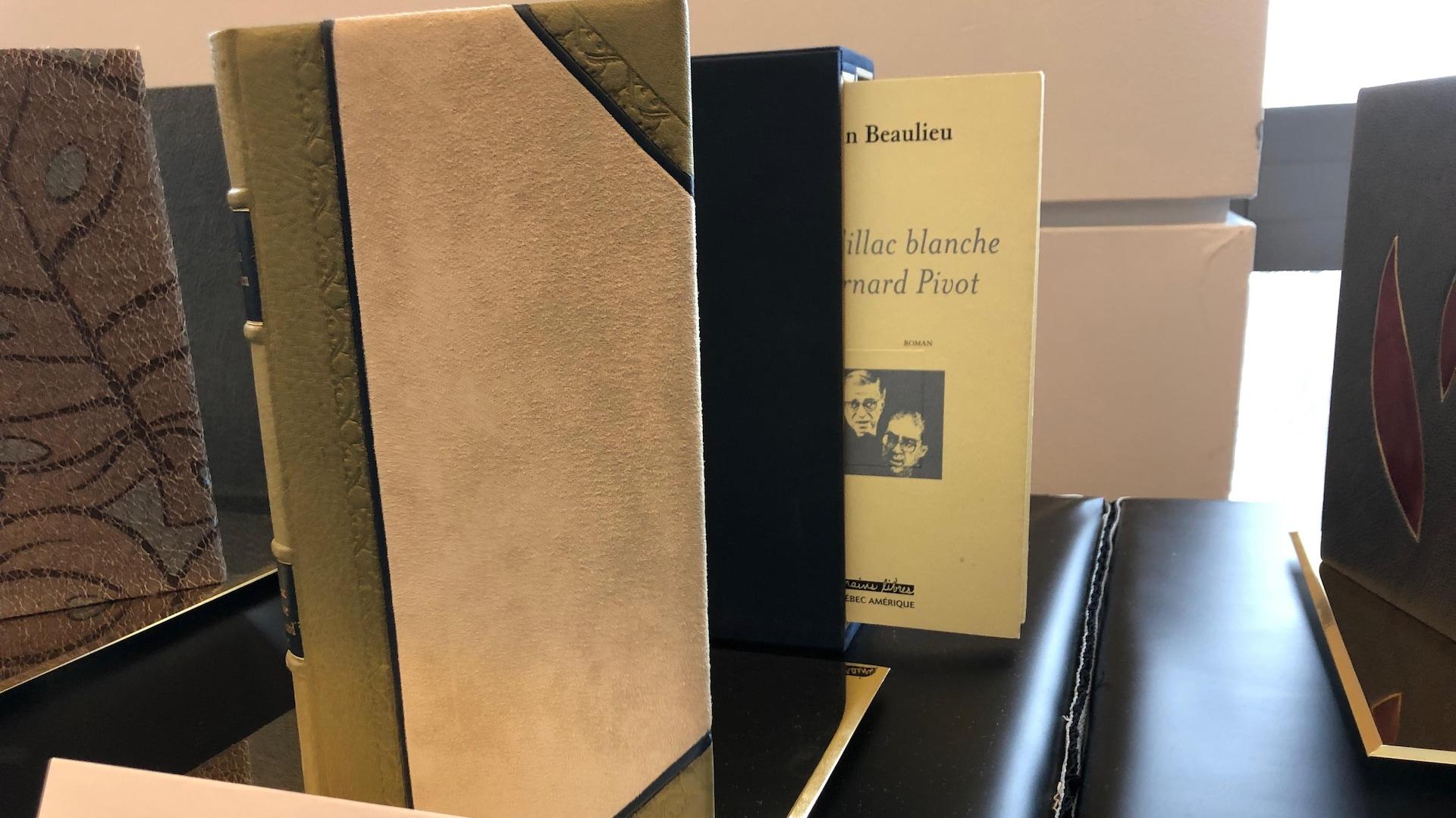 Des livres reliés pour la postérité sont présentés au grand public pour la première fois.
