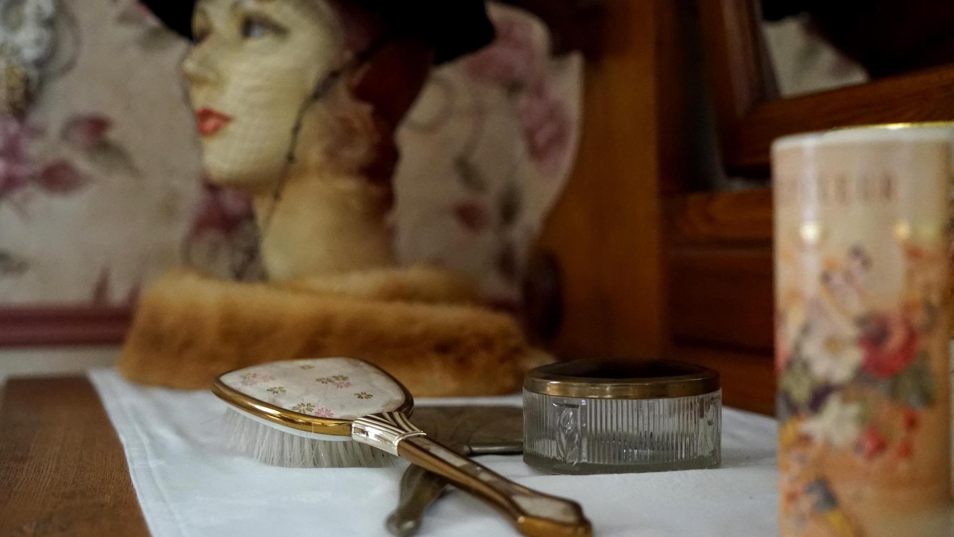 Lynda Clément a plusieurs coins thématiques dans la maison.