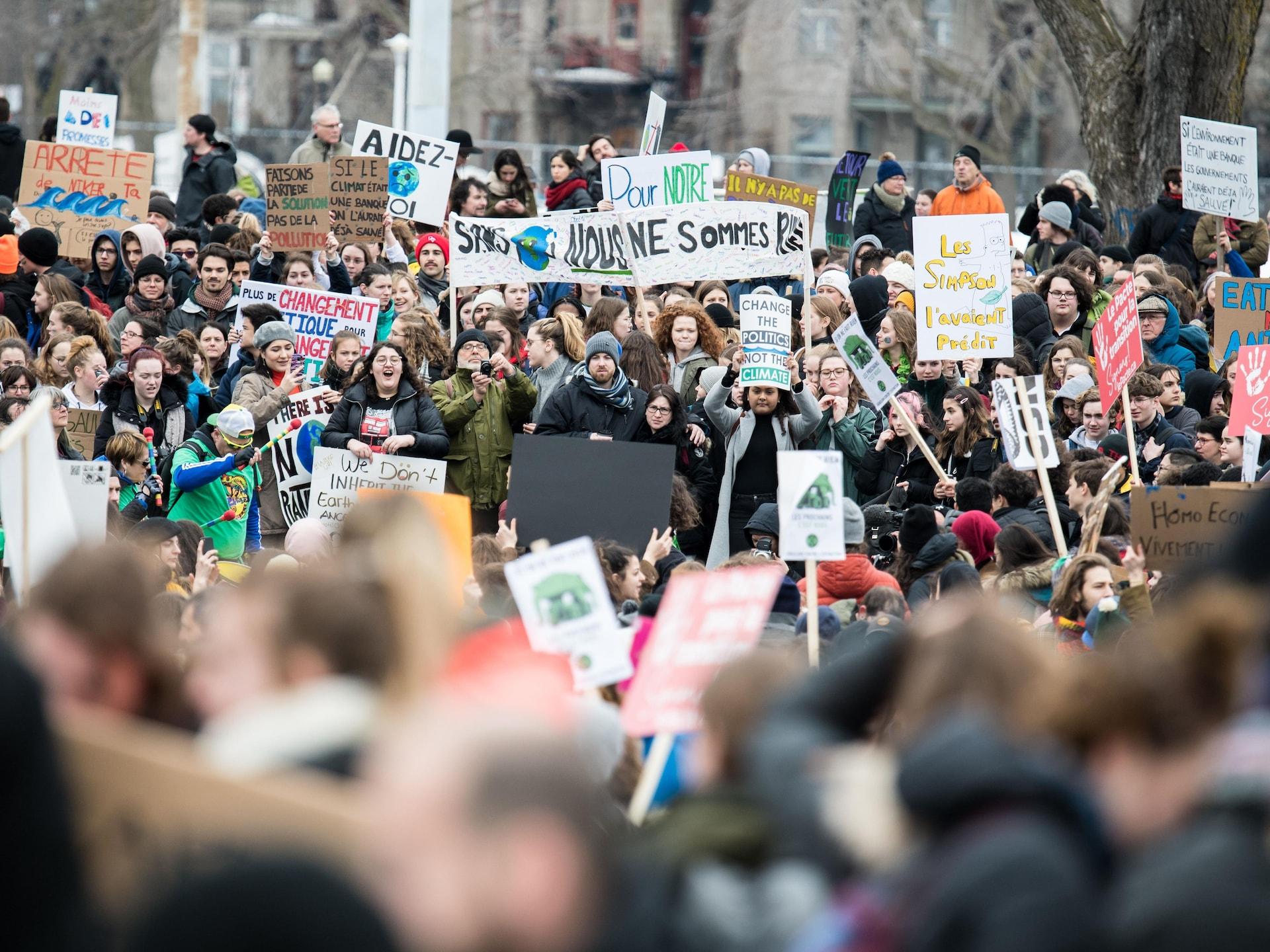 Les étudiants ont marché par dizaines de milliers dans les rues de Montréal.