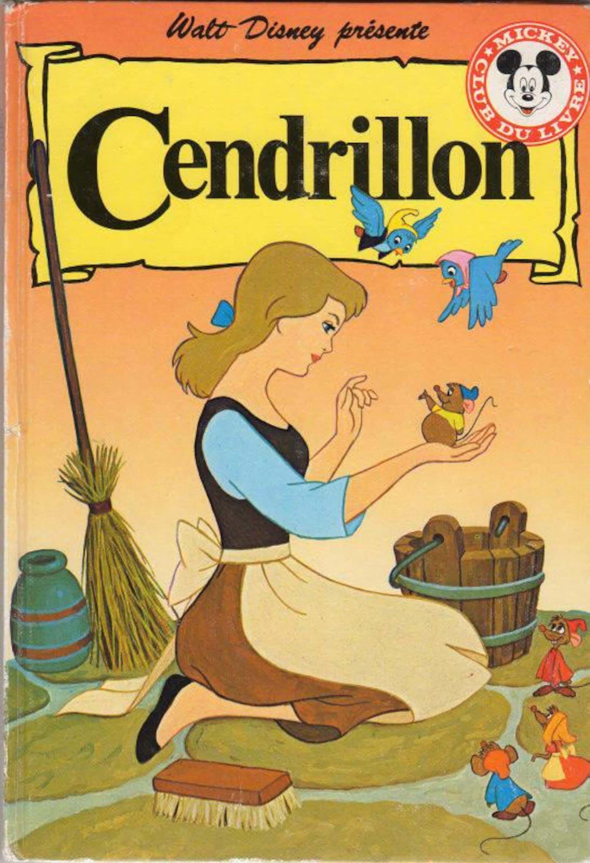 Couverture du livre «Cendrillon» de la collection Walt Disney