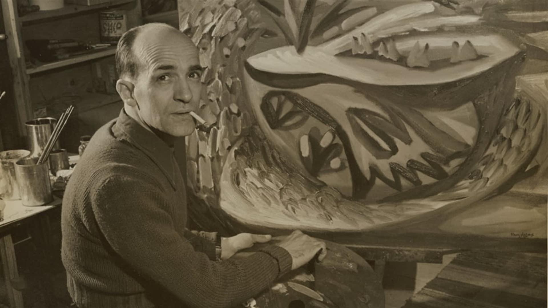 Paul-Émile Borduas en 1946