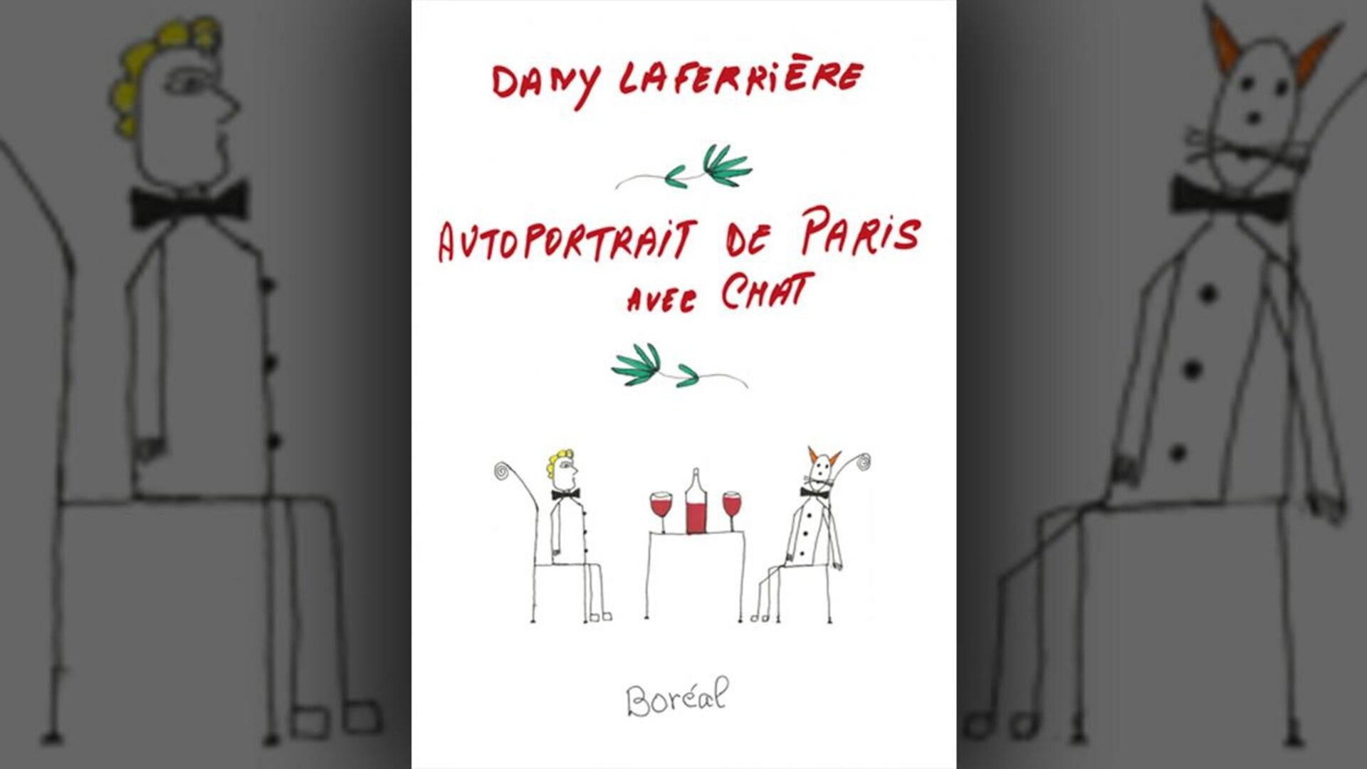 La couverture du livre  Autoportrait de Paris avec chat  de Dany Laferrière