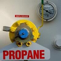 Réservoir à propane