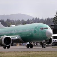 Boeing 737 MAX 8 à Renton, Washington.