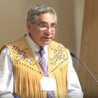L'ancien négociateur du gouvernement de la Nation crie Abel Bosum a été élu grand chef du Grand Conseil des Cris (GCC).