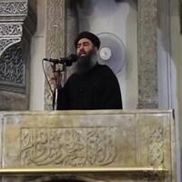 Abou Bakr Al-Baghdadi lors de sa dernière apparition publique, en 2014.