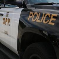 Un véhicule de police de l'Ontario.