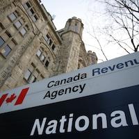 Bureaux de l'Agence du revenu du Canada, à Ottawa.