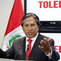 L'ancien président du Pérou, Alejandro Toledo