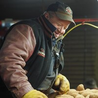 Alex Docherty, propriétaire de la ferme Skye view