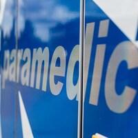 Une ambulance.