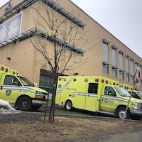 L'Hôpital de l'Enfant-Jésus à Québec.