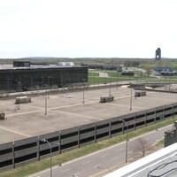 Vue sur l'ancien aéroport de Mirabel.
