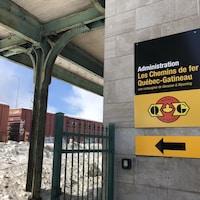 L'ancienne gare de Trois-Rivières