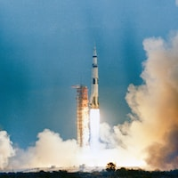 Lancement de la mission Apollo 9.