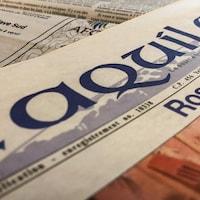 Le journal l'Aquilon.