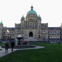 Le parlement de Victoria, en Colombie-Britannique.