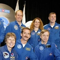 Marc Garneau, Steve MacLean, Julie Payette, Dave Williams, Roberta Bondar, Chris Hadfield, Robert Thirsk et Bjarni Tryggvason.