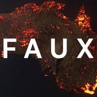 On voit qu'une bonne partie de l'Australie est couverte de flammes.