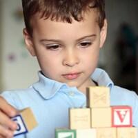 Enfant autiste.
