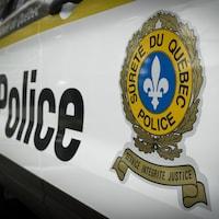 Une voiture de police de la Sureté du Québec