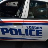 Voiture de la police de London en Ontario.